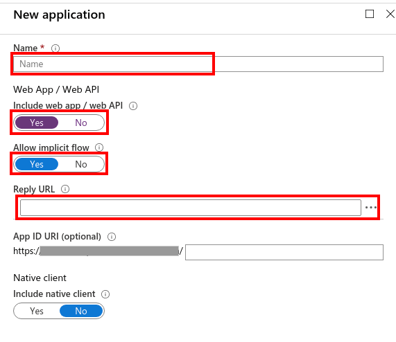 Microsoft Azure b2c Single Sign On (sso) Login : azure-b2c-app-create