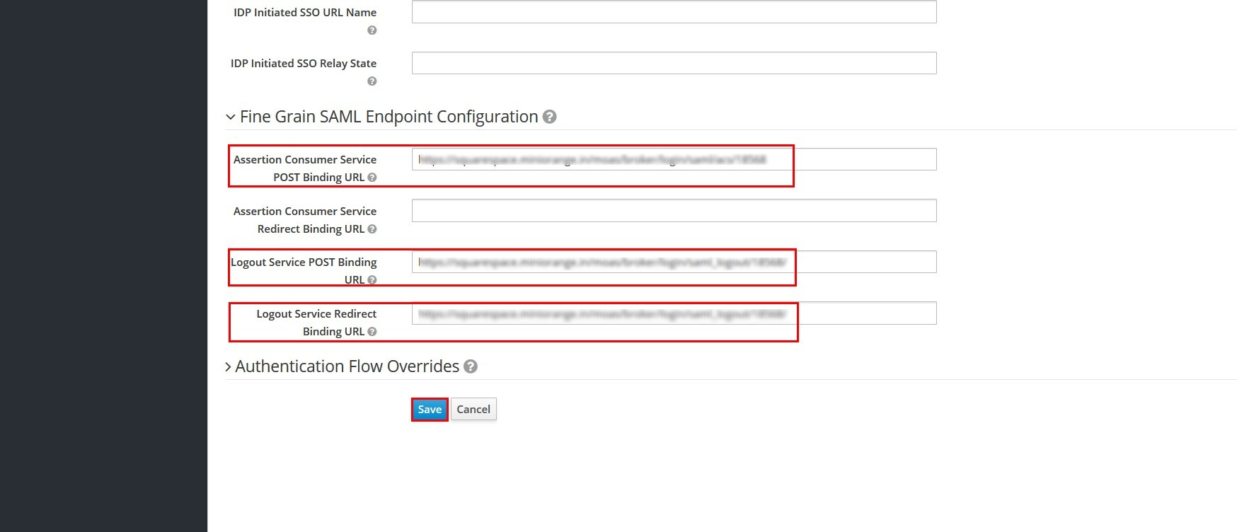 Keycloak Client Configuration