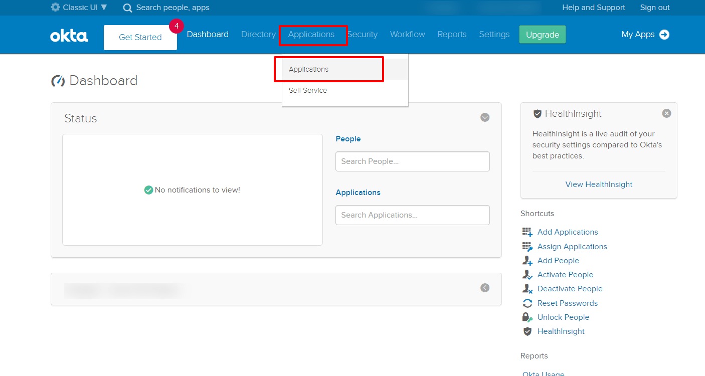 Okta Single Sign On SSO okta applications
