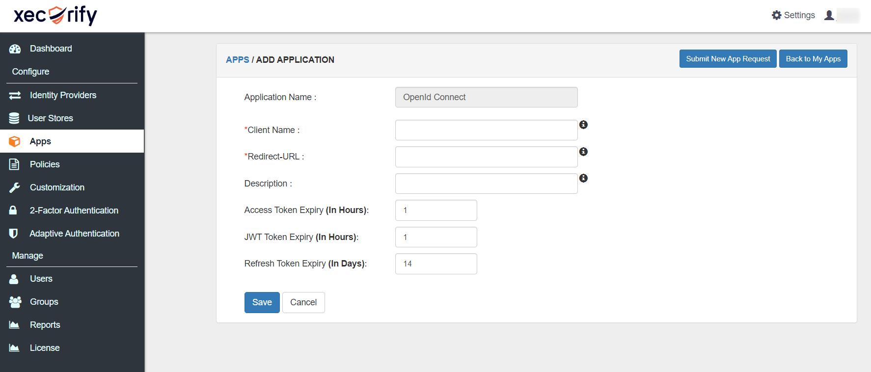 OAth AddopenIDConnect app