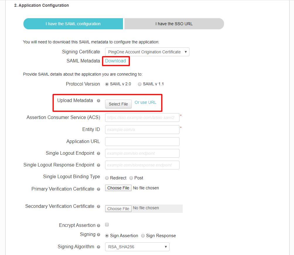 pingone sso-idp-metadata