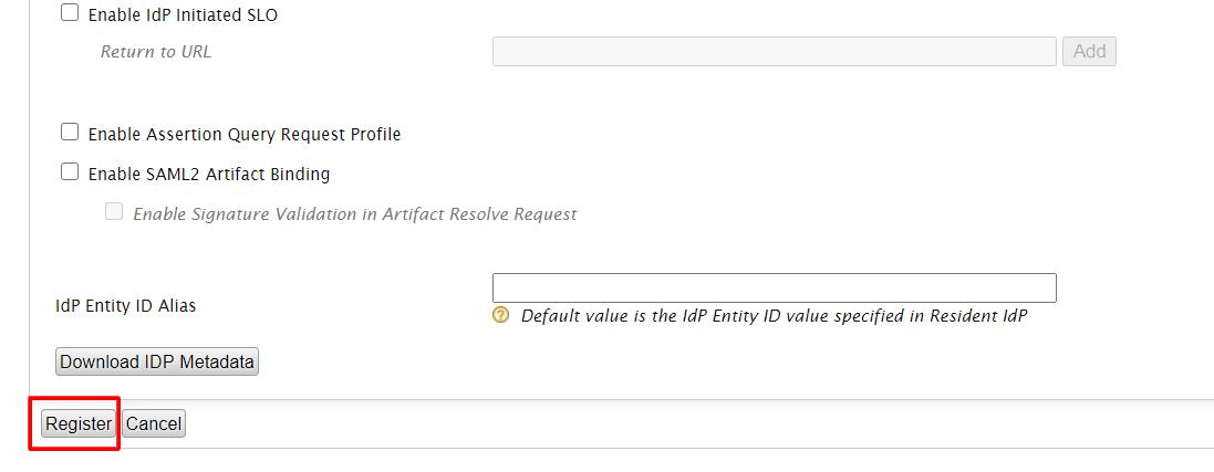 wso2 register sp details