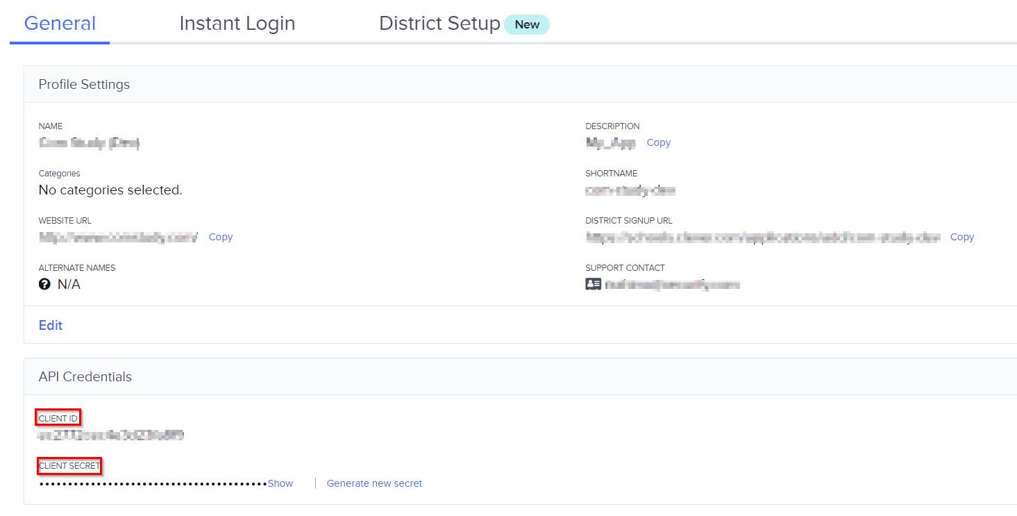 Clever Single Sign On (sso), Cliet ID, Client Secret