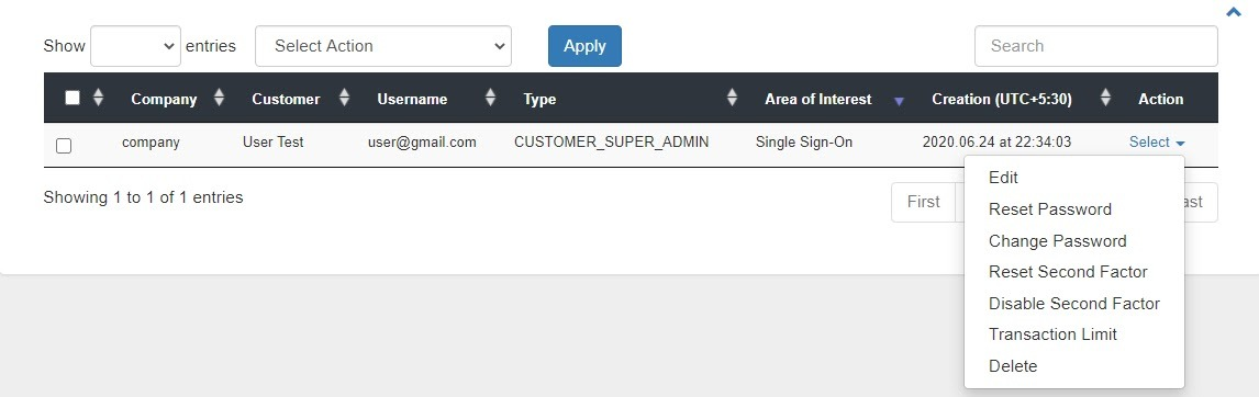 smtp gateway Activation email