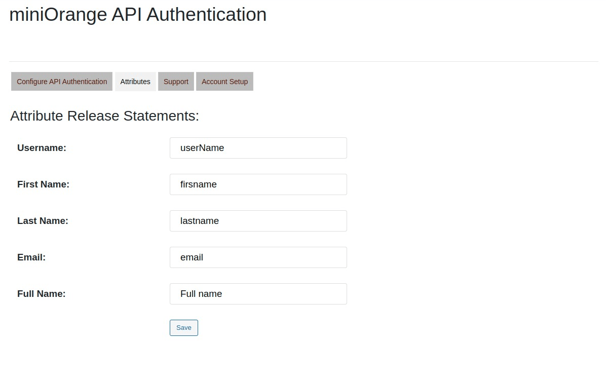 Select attributes to be passed while Moodle SSO Login