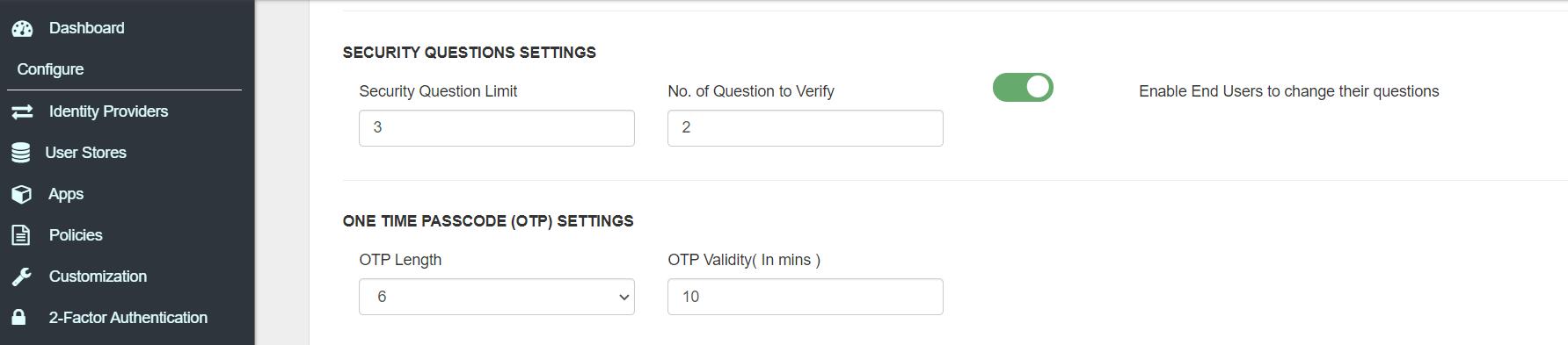 IDP user-registration